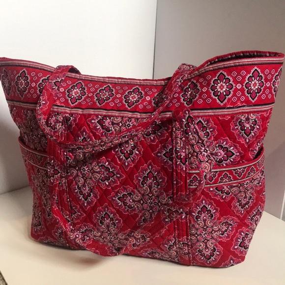 Vera Bradley Handbags - Extra Large Vera Bradley Tote Bag
